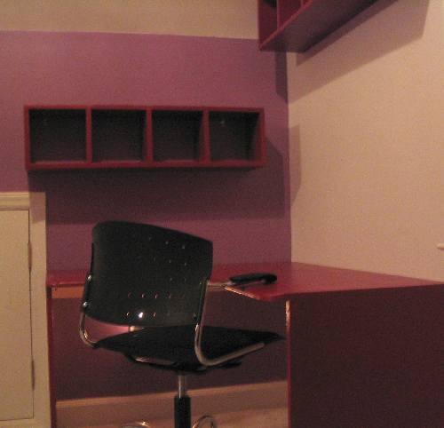 Desk final install.